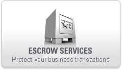 Escrow Services - Protect your business transactions